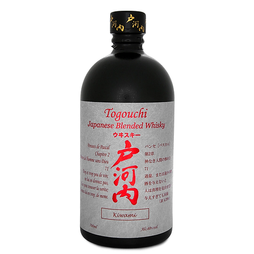 Togouchi Kiwami Whisky 40% 700mL
