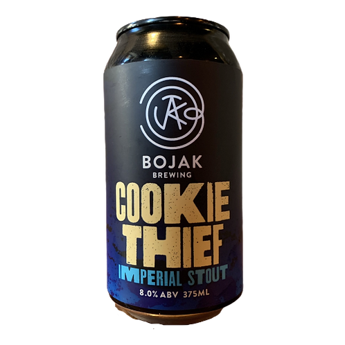 Bojak Brewing Cookie Thief Imperial Stout 8% Can 375mL
