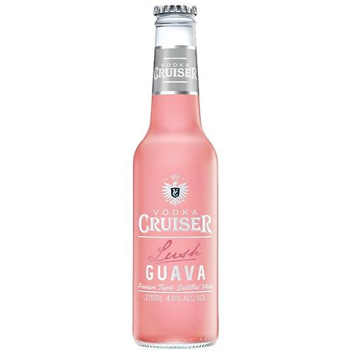 Vodka Cruiser Lush Guava 4.6% Btl 275mL