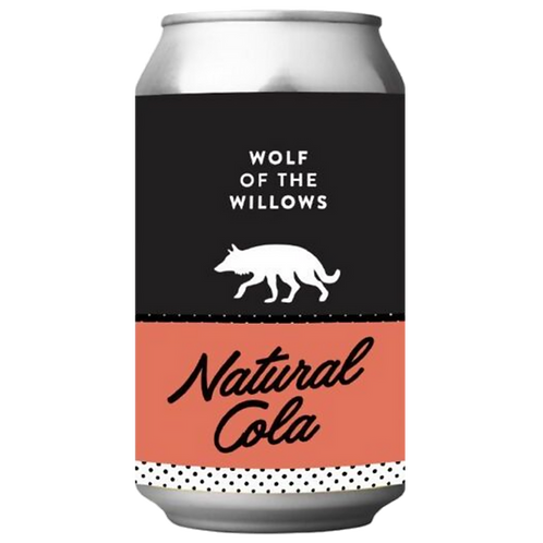 Wolf Of The Willows Natural Cola Hard Seltzer 4.5% 355mL