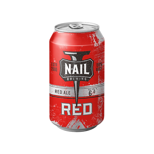 Nail Brewing American Red Ale Cans 375mL