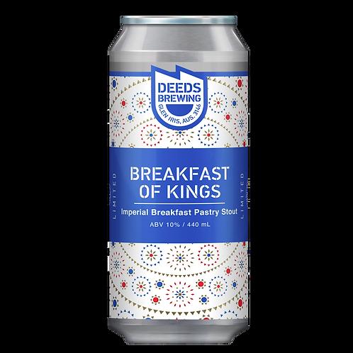 Deeds Brewing Breakfast of Kings 10% Can 440mL