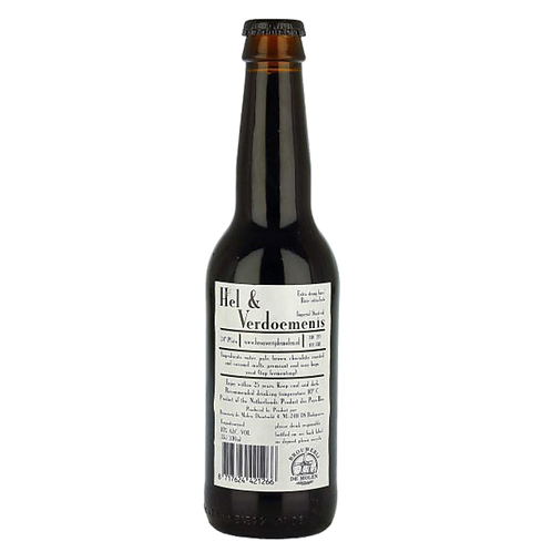De Molen Hel & Verdoemenis Hazelnut Imperial Stout 10% Btl 330mL