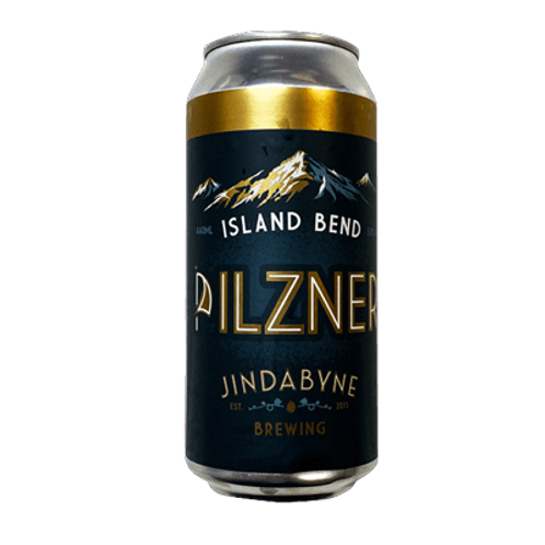Jindabyne Brewing Island Bend Pilzner 5% Can 440mL