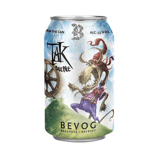 Brauhaus Bevog Tak Pale Ale 5.5% Can 330mL
