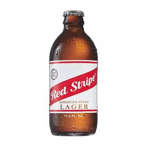 Red Stripe Jamaican Beer 4.7% Btl 330mL