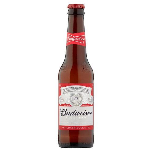 Budweiser King of Beers (UK) 4.5% Btl 330mL
