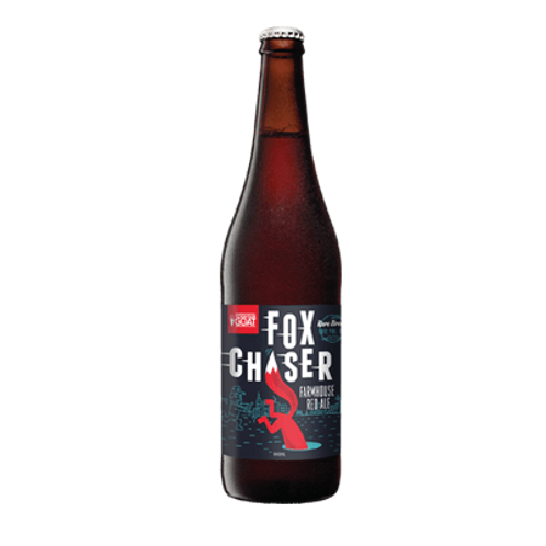 Mountain Goat Limited Release Fox Chaser Farmhouse Red Ale 6.5% Btl 640mL
