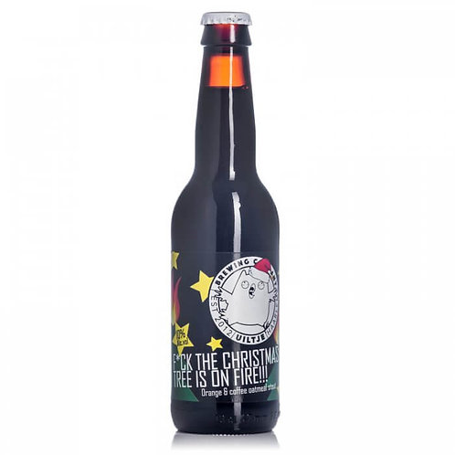 Uiltje Brewing F*ck the Christmas Tree is on Fire Stout 10% Btl 330mL