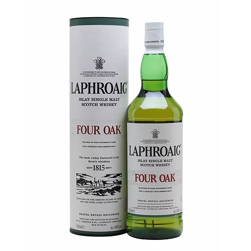 Laphroaig Four Oaks Single Malt Scotch Whisky 40% 1LT
