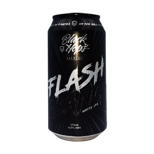 Black Hops Brewery  Flash White IPA 6.8% Can 375mL