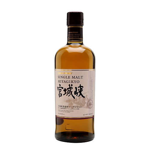Nikka Miyagikyo Single Malt Whisky 45% 700mL