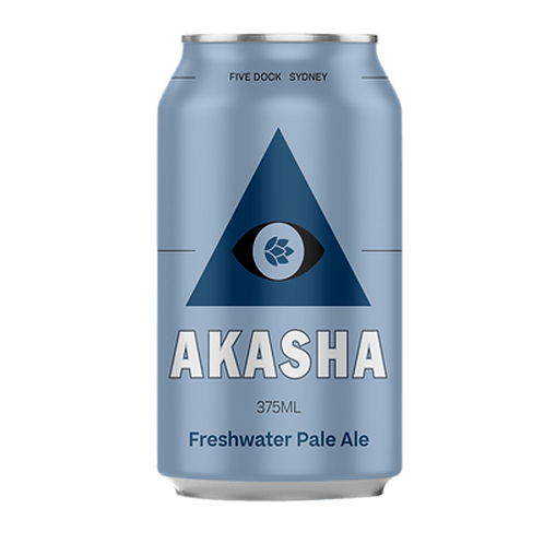 Akasha Brewing Pale Ale 5.2% Can 375mL