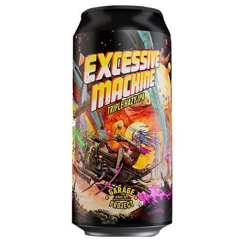 Garage Project Excessive Machine Triple Hazy IPA 10.2% Can 440mL