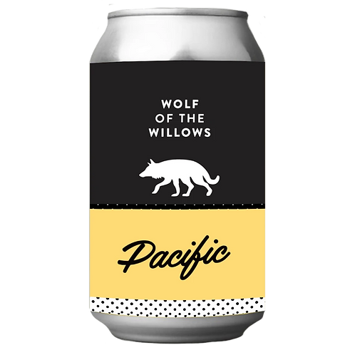 Wolf Of The Willows Pacific Hard Seltzer 4.5% 355mL