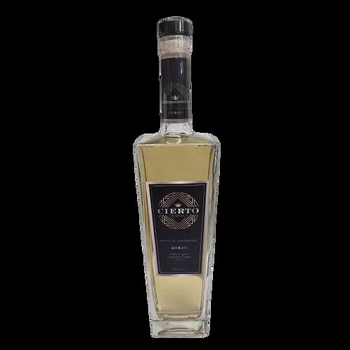 Cierto Anejo 100% Agave Tequila 40% btl 700mL