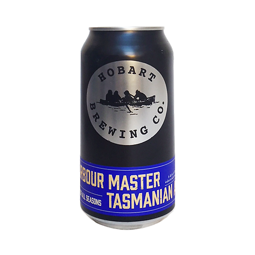 Hobart Brewing Co Harbour Master Tasmanian Ale 4.4% Can 375mL