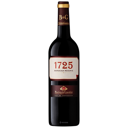 Barton & Guestier 2017, 1725 Bordeaux ReserveBt; 750mL