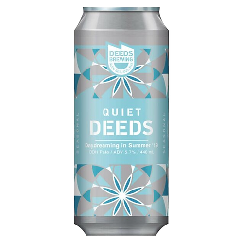 Deeds Brewing Daydreaming in Summer DDH Hazy Pale 5.7% Can 440mL