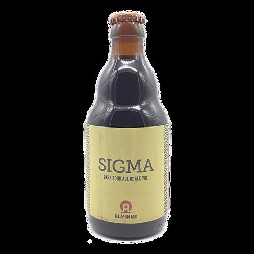 Alvinne Sigma Dark Sour Ale 8% Btl 330mL