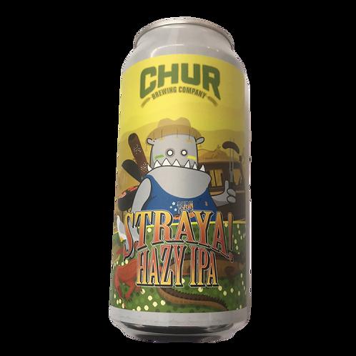 Chur Brewing Co Straya ! Hazy IPA 7% Can 440mL