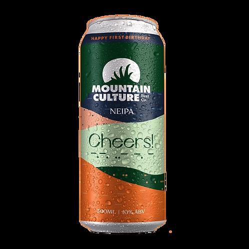Mountain Culture Cheers NEIPA 10% Can 500mL