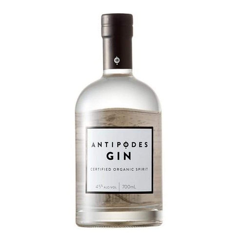 Antipodes Certified  Organic Gin 45% Btl 700mL