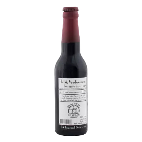 De Molen BA Hel & Verdoemenis Imperial Stout 11.8% Btl 330mL