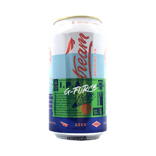 Slipstream Brewing G - Force IPA 6.5% Can 375mL
