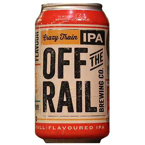 The Off the Rail Crazy Train IPA 6.5% Can 355mL