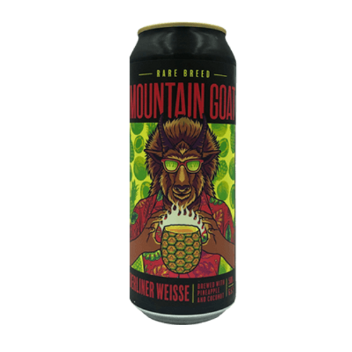Mountain Goat Rare Breed Pineapple & Coconut Berliner Weisse 6.5% Can 500mL