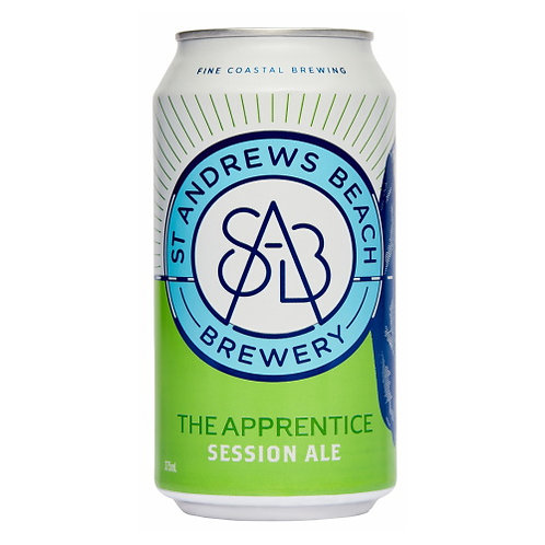 ST Andrews Beach The Apprentice Session Ale 3.5% Can 375mL