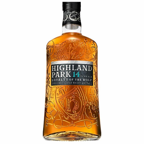 Highland Park 14 Year Old Loyalty of the Wolf Single Malt 42.3% 1LT