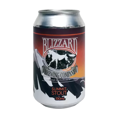 Blizzard Brewing Summit Stout 6.5% Can 330mL