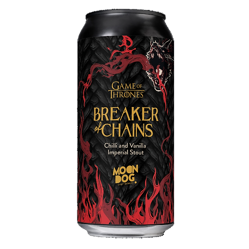 Moon Dog X Games of Thrones Breaker of Chains 7.7% Can 440mL