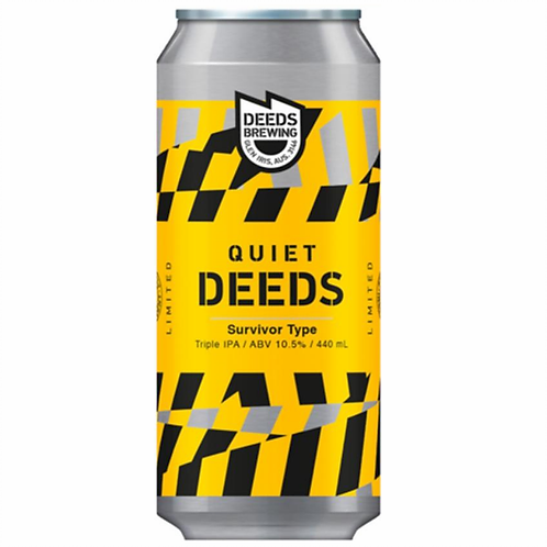 Deeds Brewing Survivor Type Hazy TIPA 10.5% Can 440mL