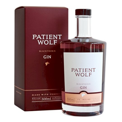 Patient Wolf Blackthorn Gin ( Gift Box )500mL
