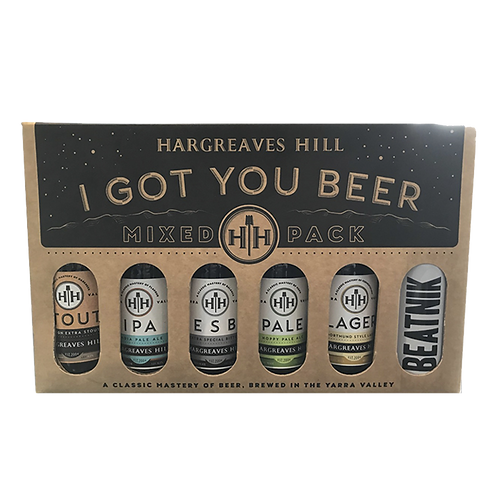 Hargreaves Hill I got You Beer Mixed Gift Pack 330mL