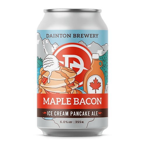 Dainton Brewery Maple Bacon Ice Cream Pancake Ale 6% Can 355mL