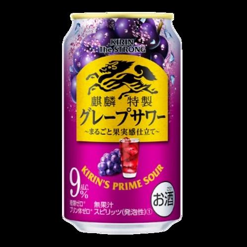 Kirin Freezing Grape Sour Cocktail 9% 375mL