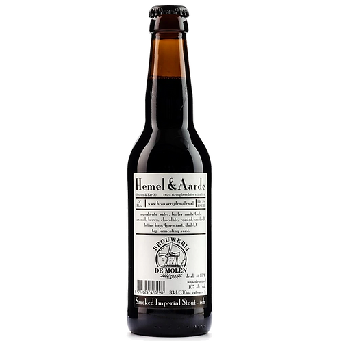 De Molen Hemel & Aarde Smoked Imperial Stout 10% Btl 330mL
