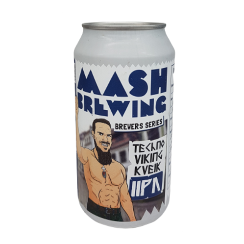 Mash Brewing Brewers Series - Tekno Viking Kveik DIPA 8% Can 375mL