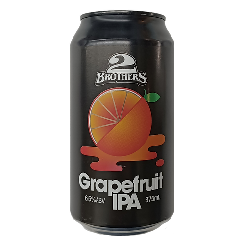 2 Brothers Grapefruit IPA 6.5% Can 375mL