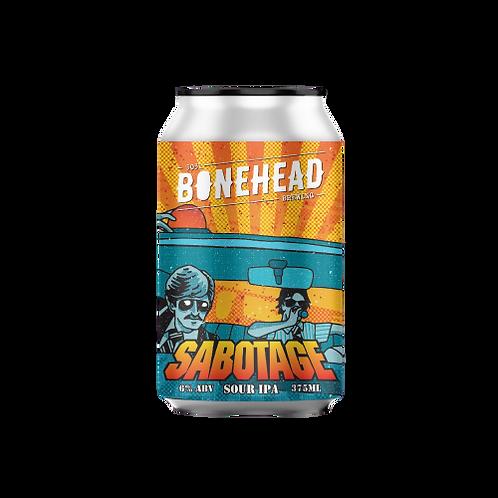 Bonehead Brewing Sabotage Sour IPA 6% Can 375mL