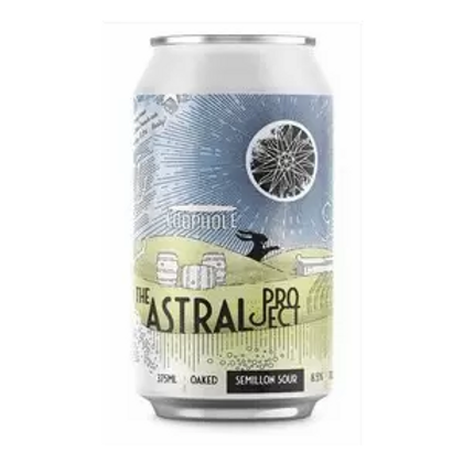 "Loophole Brewing Co ""Astral Project"" Semillon Sour 8.5% Can 375mL"