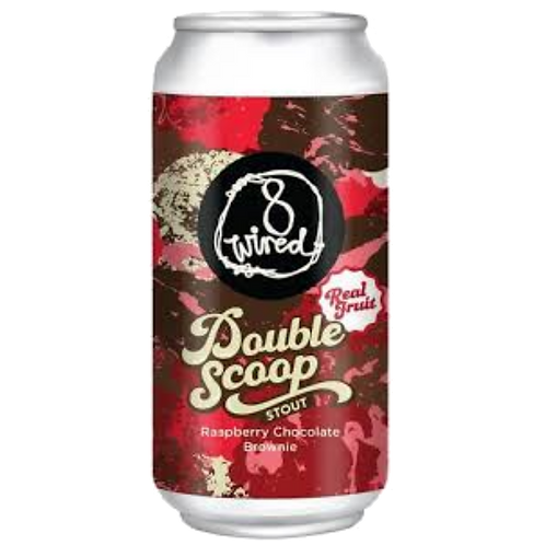 8 Wired Double Scoop Stout 7.5% Can 440mL