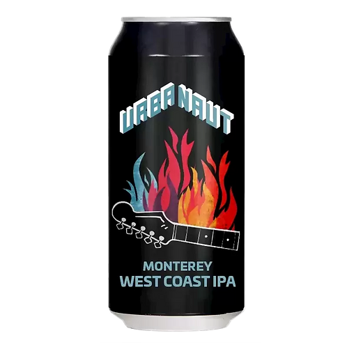 Urbanaut Brewing Co Monterey West Coast IPA 6.7% Can 440mL