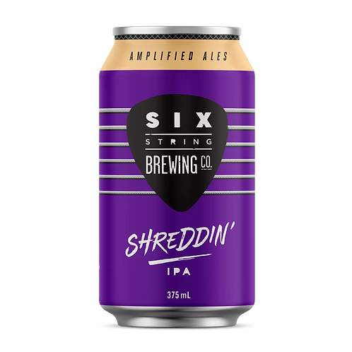 Six String Shreddin' IPA 6% Can 375mL