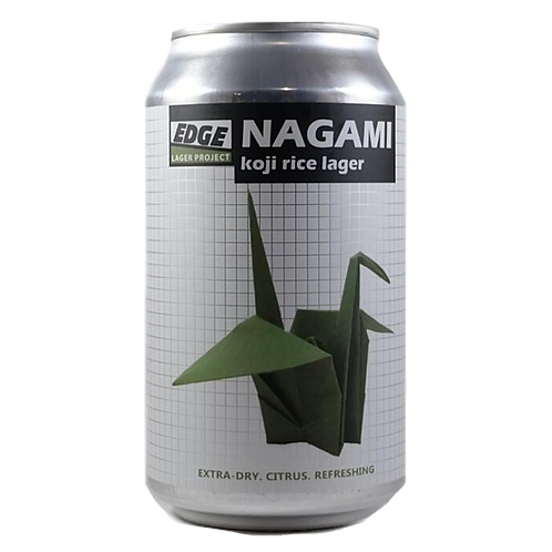 Edge Brewing Nagami Koji Rice Lager 4.8%