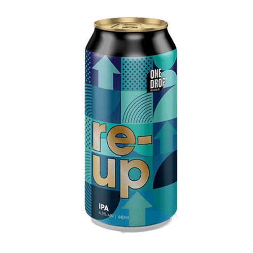 One Drop Brewing Co re-up IPA 6.3% Can 440mL